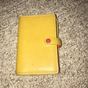 Vintage coach planner